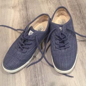 UGG denim sneaker shoes